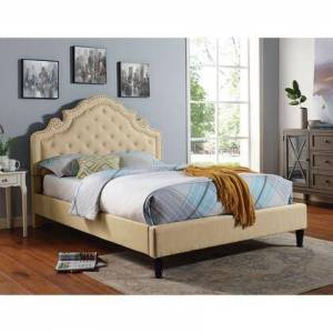 Furniture of America CM7537BG-CK-BED Aubree Cal.King Bed  in