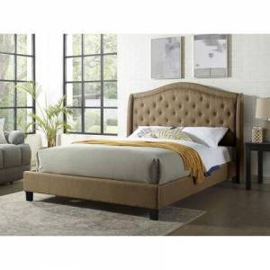 Furniture of America CM7160BR-EK-BED Carly E.King Bed  in