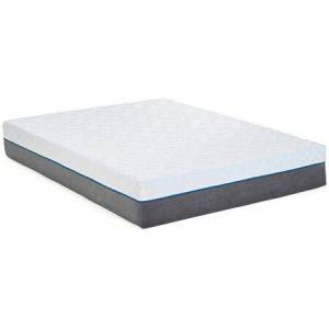 """South Bay Copper Collection 12BNCOPPER-EK 12"""" King Size Memory Foam Mattress with 2"""" Copper Infused Visco Memory Foam  1"""" Visco Memory Foam  2"""" Poly Foam  7"""""""