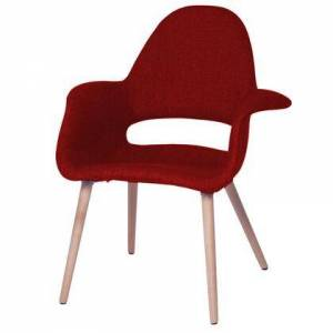 Fine Mod Imports FMI10086-red Forza Dining Chair