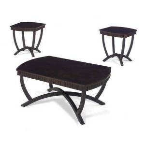 Jackson 80270 Series Occasional Tables Set Of 3 In Black