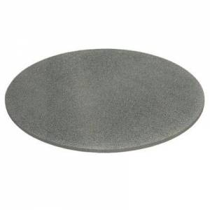 Essentials for Living E.CRAGL-LRD.SGRY Crackled Collection E.Cragl-Lrd.Sgry Round Dining Table Top In