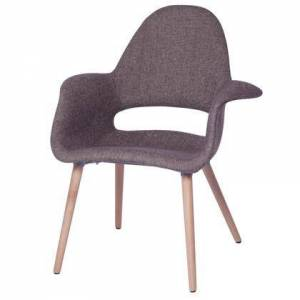 Fine Mod Imports FMI10086-brown Forza Dining Chair