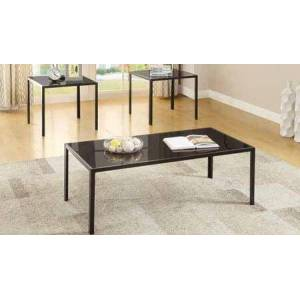Coaster 720457 3-Piece Occasional Set with Coffee Table and 2x End Tables in Antique