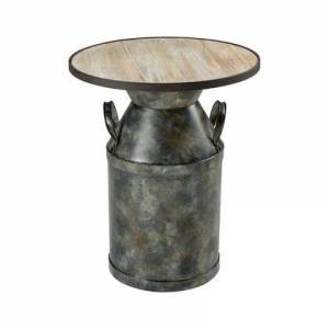 ELK Home 351-10610 Spacious Skies Accent Table  In Wood Tone  Antique
