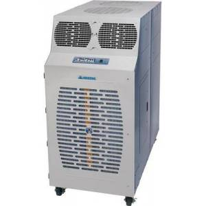 """KwiKool KIB12023 33"""" Iceberg Series Portable Air Conditioner with 120000 BTU Cooling Capacity  I/O Integral Condenser Dual Ducting and Microprocessor"""
