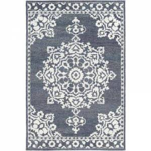 """Surya Granada GND-2309 2'6"""" x 8' Runner Traditional Rug in Charcoal"""