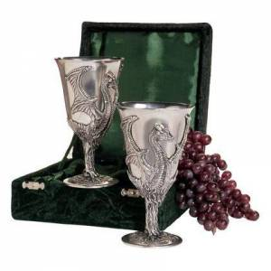 Design Toscano PA9050 Boxed Pair Of Dragon Pewter