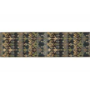 """Tommy Bahama Home V8122N080285ST Runner 2' 7"""" X  9' 4"""" Rug Pad with Abstract Pattern and Machine Woven"""