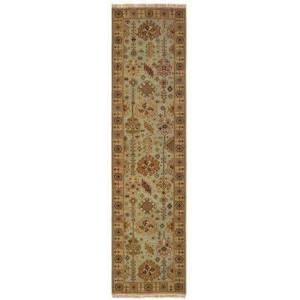 """Tommy Bahama Home A12305076305ST Runner 2' 6"""" X 10' Rug Pad with Oriental Pattern and Handcrafted"""