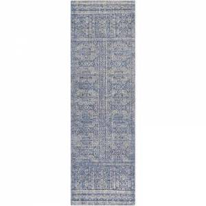 "Surya Livorno LVN-2301 2'6"" x 8' Runner Traditional Rug in Charcoal"