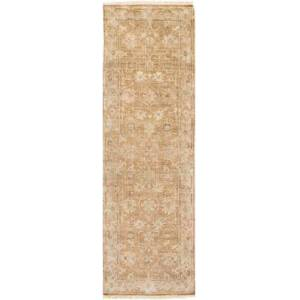 "Surya Hillcrest HIL-9012 2'6"" x 8' Runner Traditional Rug in"