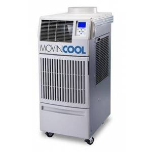 """MovinCool Climate Pro 18 21"""" Portable Air Conditioner with 14 600 BTU Cooling  13 700 BTU Heat  Large Easy-to-Read LCD Display  115 Volts  and UL Listed in"""