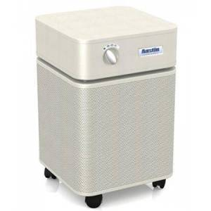 """Austin Air HealthMate B400A1 23"""" Air Purifier with Perforated Steel Intake Housing  60 sq. ft. Capacity and True HEPA Filter in"""