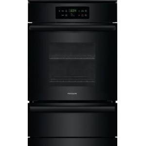 """Frigidaire FFGW2426UB 24"""" Single Natural Gas Wall Oven with 3.3 cu. ft. Capacity  Halogen Lighting  Self-Clean  and Timer  in"""