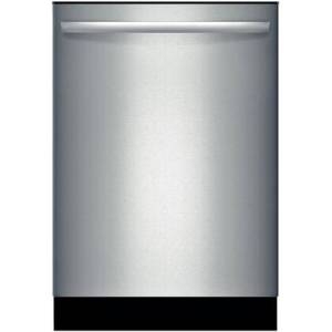 "Bosch SHX3AR75UC 24"" 100 Series Fully Integrated Built-In Dishwasher with 6 Wash Cycles  14 Place Settings  Delay Start  24/7 Overflow Leak Protection  50"