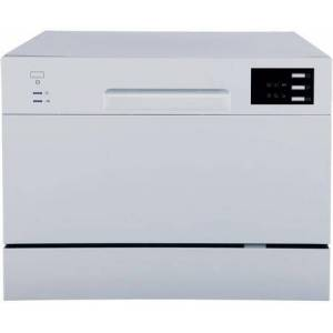 """Sunpentown SD-2225DS 22"""" Energy Star Rated Countertop Dishwasher with 6 Wash Cycles  Delay Start  and 6 Place Settings  in"""