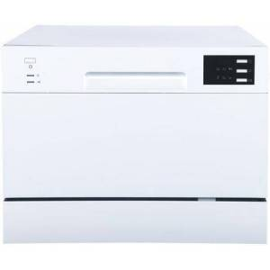 """Sunpentown SD-2225DW 22"""" Energy Star Rated Countertop Dishwasher with 6 Wash Cycles  Delay Start  and 6 Place Settings  in"""