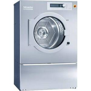 """Miele PT8407HW 36"""" Professional Series Commercial Tumble Dryer with 45 lbs. Capacity  PerfectDry System  Hot Water Heating  and Patented Honeycomb Drum  in"""