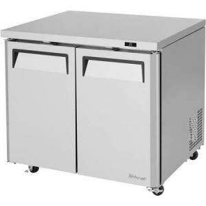"""Turbo Air MUR-36L-N6 37"""" M3 Series Low Boy Undercounter Refrigerator with 8.36 cu. ft. Capacity  Self-Cleaning Condenser  LED Interior Lighting and Hydrocarbon"""