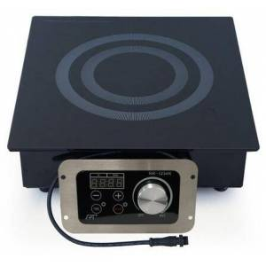 """Sunpentown RR-1234R 12"""" Radiant Cooktop with Single 1400 Watt Element  24 Hour Timer  11 Power Setting  in"""