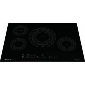 "Frigidaire FFIC3026TB 30"" ADA Compliant Induction Cooktop with 4 Elements  Pan Presence  Easy to Clean  and Timer  in"