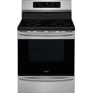 """Frigidaire GCRI3058AF 30"""" Gallery Series Induction Range with 4 Elements  5.4 cu. ft. Capacity  Air Fry and Steam Cleaning Option in  Fingerprint Resistant"""