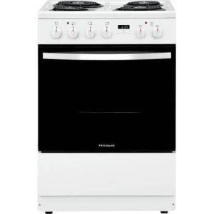 "Frigidaire FFEH2422UW 24"" Electric Range with 4 Coil Element  1.9 cu. ft. Oven Capacity  Storage Drawer  ADA Compliant  in"