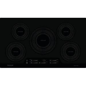 "Frigidaire FGIC3666TB 36"" Gallery Series Induction Cooktop with 5 Elements  in"