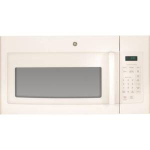 """GE JVM3160DFCC 30"""" Over-the-Range Microwave Oven with 1.6 cu. ft. Capacity  Convenience Cooking Controls  Weight and Time Defrost  Turntable with On/Off"""