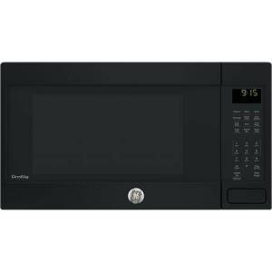 """GE Profile PEB9159DJBB  22"""" Countertop Convection/Microwave Oven with 1.5 cu. ft. Capacity  Sensor cooking controls  Convection rack and Warming option in"""