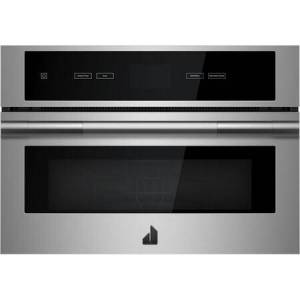 """Jenn-Air JMC2427I 27"""" RISE Built-In Microwave with Speed-Cook  1.4 cu. ft. Capacity  Smooth Close Door and Sensor Cooking in Stainless"""