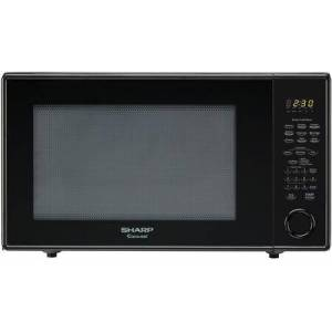 """Sharp R659YK 24"""" Counter Top Microwave with 2.2 cu. ft. Capacity   5 Sensor Cook Programs  1200 Watts  10 Power Levels  16"""" Carousel Turntable  Auto & Time"""