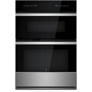 """Jenn-Air JMW3430IM 30"""" NOIR Microwave Oven Combo with 6.4 cu. ft. Total Capacity  V2 Vertical Dual-Fan Convection  Smart Integration  in Stainless"""