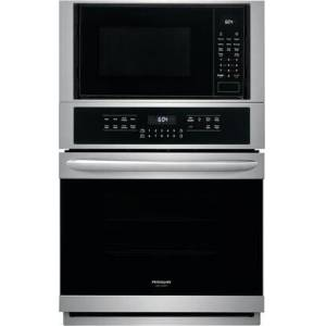 """Frigidaire FGMC2766UF 27"""" Gallery Series Electric Microwave Wall Oven/Microwave Combination with True Convection  Effortless Temperature Probe and Steam Clean"""