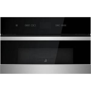 """Jenn-Air JMC2430IM 30"""" NOIR Built-In Microwave with Speed-Cook  1.4 cu. ft. Capacity  Smooth Close Door and Sensor Cooking in Stainless"""
