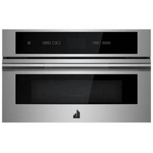 "Jenn-Air JMC2430IL 30"" RISE Built-In Microwave with Speed-Cook  1.4 cu. ft. Capacity  Smooth Close Door and Sensor Cooking in Stainless"