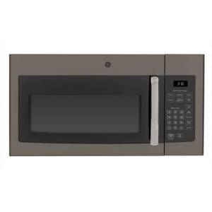 "GE JVM3160EFES 30"" Over-the-Range Microwave Oven with 1.6 cu. ft. Capacity  Convenience Cooking Controls  Weight and Time Defrost  Turntable with On/Off"