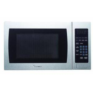 """Magic Chef MCM990ST 20"""" Countertop Microwave Oven with 0.9 cu. ft. Capacity  10 Power Levels  8 Programmed Cooking Modes  900 Cooking Watts and Glass Turntable"""