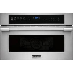 """Frigidaire Professional FPMO3077TF 30"""" Built-In Convection Microwave Oven with Drop Down Door  1.6 cu. ft. Capacity  2-in-1 Convection Oven and Microwave  PowerSense Broil"""