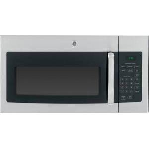 """GE JVM3160RFSS 30"""" Over-the-Range Microwave Oven with 1.6 cu. ft. Capacity  Convenience Cooking Controls  Weight and Time Defrost  Turntable with On/Off"""