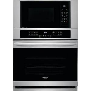 """Frigidaire FGMC3066UF Gallery Series 30"""" Electric Microwave Wall Oven Combination with 6.7 cu. ft. Total Capacity  True Convection  Effortless Temperature Probe"""