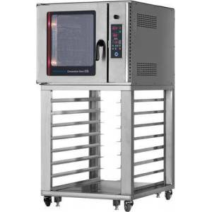 """Radiance RBCO-N1U 34"""" Convection Oven with 5 Full-Size Trays Capacity  Hot Air and Steam  Precise Temperature Control and Timer in Stainless"""