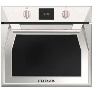 """Forza FOSP30S 30"""" Single Dual Convection Electric Wall Oven with 4.4 cu. ft. Capacity  5.7"""" TFT Display with Electronic Knob Controls  4 Pane Heat"""