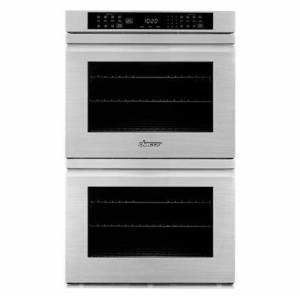 """Dacor HWO227FC 27"""" Heritage Series Double Wall Oven with 9 cu. ft. Total Capacity  Convection  Sabbath Mode  Delay Bake  Steam Clean  Star-K Certified"""