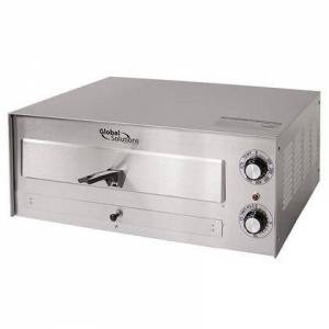 """Nemco GS1010 17"""" Countertop Multipurpose Pizza Oven with Manual Thermostat and Timer - 120V  1700W  in"""