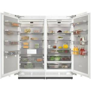 "Miele MasterCool II Series 72"" Side By Side Column Refrigerator & Freezer Set with K2901Vi 36"" Right Hinge Refrigerator and F2911Vi 36"" Left Hinge Freezer"