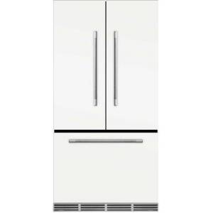 """AGA MMCFDR23-SND 36"""" Mercury  Counter Depth French Door Refrigerator With Storage Drawer  22.2 cu. ft. total capacity  12 Temperature Settings"""