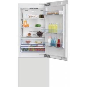 """Beko BBBF3019IMWE 30"""" Built-in Bottom Freezer Refrigerator with 16.4 cu. ft. Capacity  EverFresh+ Drawer  NeoFrost Dual Cooling Technology and Interior"""