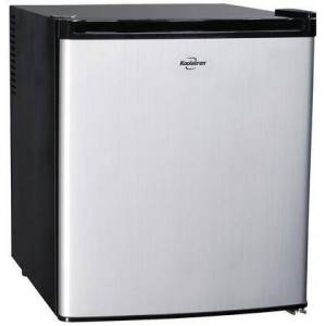 "Koolatron KCR40B 20"" AC/DC Hybrid Heat Pipe Thermoelectric Refrigerator with 1.7 cu. ft. Capacity  LED Interior Lighting  Temperature Control and Removable"